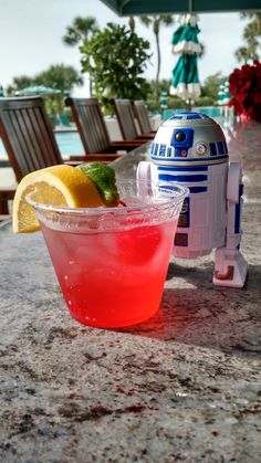 To that time when R2D2 was enjoying a cocktail on Star Wars Day here at Longboat Key Club! Only in Sarasota.
