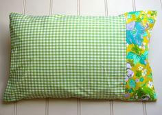 pillowcase tutorial by flowerpress, via Flickr