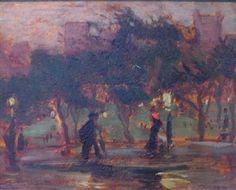 SHAKESPEARE GARDEN, CENTRAL PARK By Theresa Ferber Bernstein ,1913