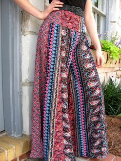 I love these fun flowy pants!