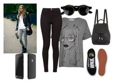 """""""Untitled #674"""" by doinacrazy ❤ liked on Polyvore featuring French Connection, American Apparel, Vans and rag & bone"""