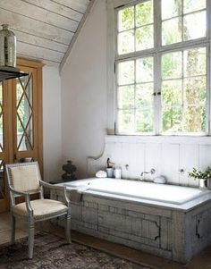 Cute country bathroom