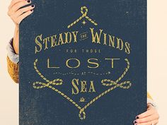 Help Ink - Steady The Winds by Adam Trageser