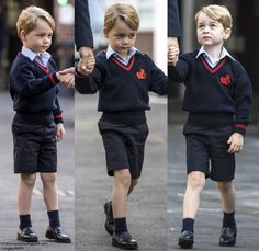 What a week it's been for royal watchers! This morning, Prince George started school at Thomas's Battersea. The significant day denoted an ...