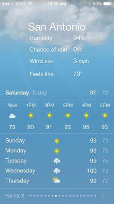San Antonio is just a bit….humid…..wow. #RWA14 #gladtherewillbeAC pic.twitter.com/SmodNstNhq