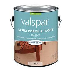 lowe s store shop valspar white semi gloss latex exterior paint actual. Black Bedroom Furniture Sets. Home Design Ideas