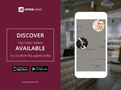 Track down your favourite salon nearby your location with the help of UpperLooks App. Download for Free from both App Store & Google Play Store. #hairsalon #fashion #beauty #hairstyle