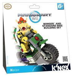 Nintendo Knex Mario Bowser Bike Building
