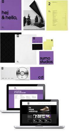#Emil-Kozak Imagen corporativa: diferentes elmentos de identidad grafica
