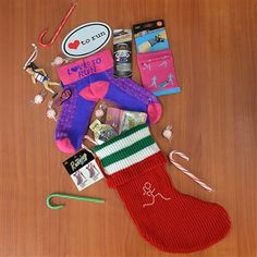 Runner Girl Stocking! Cute gift idea for a running friend!