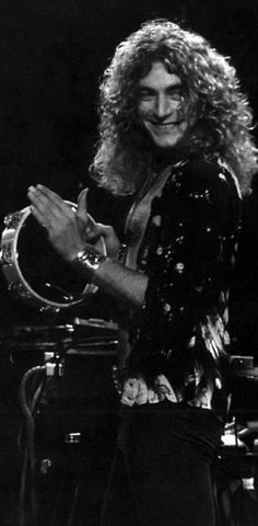Robert Plant... that smile of yours ....