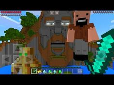 Do NOT Enter The Temple of Notch in Minecraft Pocket Edition at 3:00 AM - YouTube