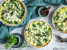 Skinkepai | Oppskrift - MatPrat Avocado Toast, Quiche, Nom Nom, Veggies, Breakfast, Food, Morning Coffee, Vegetable Recipes, Vegetables