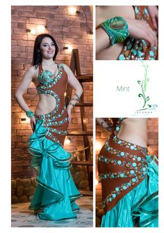 Belly dance costume MINT