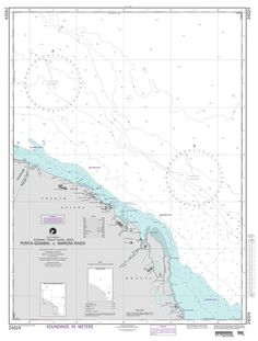 NGA Chart 24024: Ponta Goiabal to Maroni River
