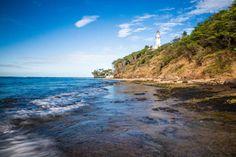diamond head lighthouse on the south shore of oahu