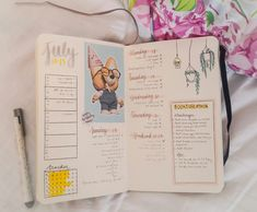 July 17-23 || First week of my new bujo included Seventeen's Wonwoo's birthday, the BookTubeAThon, and the beginning of my SAT prep.