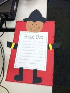 Fire Safety Week Thank You Letter To Local Firefighters