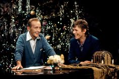 """A new PBS documentary about Bing Crosby tells the story of his unlikely holiday collaboration with David Bowie, """"Peace on Earth/Little Drummer Boy."""""""