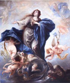 """""""Inmaculada Concepción"""" de Juan Antonio Frías y Escalante. Luis Alberto Gómez Mata"""