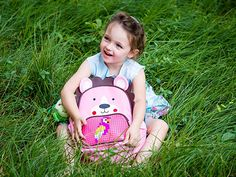 Amazon.com   EPIC KIDS Cute Backpack with Pixel Art Front Pocket - Creative DIY Preschool girl Backpack with 160 Colorful Bricks-Water Resistant Pink Lion Bag for Kindergarten, Weekend Trips and Family Picnics   Kids' Backpacks