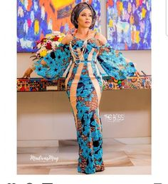 Top Classic Aso Ebi styles 2018 - African Styles for Ladies Aso Ebi Lace Styles, Lace Gown Styles, Ankara Gown Styles, Ankara Gowns, Ankara Dress, Ankara Blouse, Blouse Styles, Dress Styles, Latest African Styles