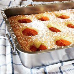Klassischer Marillenkuchen