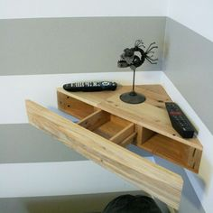 You can even make a secret shelf to fit into a corner, and it's perfect for…