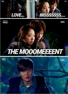 LMH is just bummed that LJS actually managed to get a proper reaction out of PSH. #Pinocchio #Heirs #thecurseisbroken