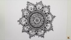 Amazing zentangle
