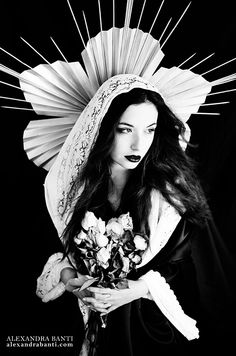 alexandrabanti-photography: ~ Ave Madonna ~ Photo/makeup/headpiece/stylism : Alexandra Banti Model : Utopia
