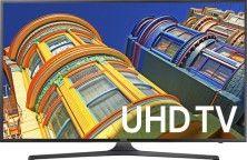 "Samsung - 60"" Class (60"" Diag.) - LED - 2160p - Smart - 4K Ultra HD TV - Black - Larger Front"