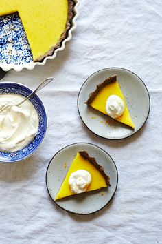 MEYER LEMON BUCKWHEAT TART