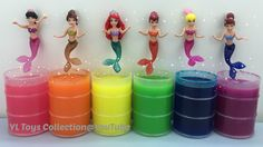 Slime Surprise Toys Disney Princess Ariel Mermaid Sister by YL Toys Coll...
