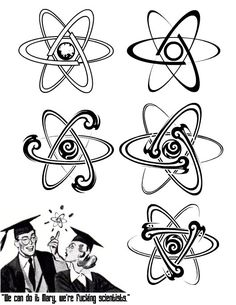 atom tattoo - Google Search