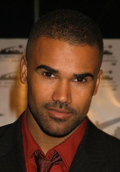 Shemar Moore! Quit that before you hurt somebody! That stare!!!