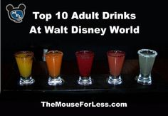 Top 10 adult drinks at Walt Disney World.yes please! disney world tips & tricks Disney World Planning, Disney World Vacation, Disney Vacations, Walt Disney World, Disney Travel, Disney Worlds, Disney Parks, Florida Vacation, Dream Vacations