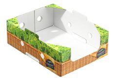 #Steigen für Hühnchenfleisch twin secure Medium (TSM) • Kühlkette für Hühnchen • twin secure-Technologie • #Kühlraumtauglich • Hohe #Stapelfähigkeit • Vollflächig lackiert zur Unterstützung weniger Feuchtigkeitsaufnahme/cobbwert • Oberfläche besseres Druckbild durch twin secure • #T4P, #Lebensmittelverpackung, #Wurstverpackung, #Fleischverpackung