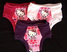 Hello Kitty Training Underwear  Set of Three by myfunclothes
