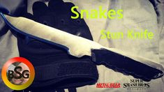 Making Snakes Stun Knife from the Metal Gear Series Metal Gear Solid, Super Smash Bros, Blacksmithing, Snake, Corner, Design, Blacksmith Shop, A Snake
