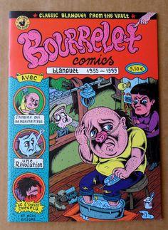 BOURRELET COMICS par Stéphane Blanquet