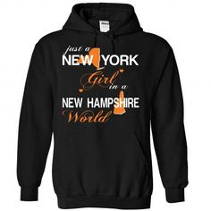 Awesome Tee NEWYORK GIRL IN NEWHAMPSHIRE T-Shirts