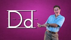 Learn the letter D. This Alphabet song in our Let's Learn About the Alphabet Series is all about the consonant d Your children will be engaged in singing, li. Alphabet Song For Kids, Alphabet Video, Alphabet Songs, Abc Songs, Learning The Alphabet, Kids Songs, Abc Learning Videos, Educational Videos, Early Learning