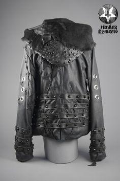 Image of Junker Designs Men's Leather Fallout Jacket