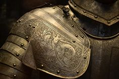Armour engraving