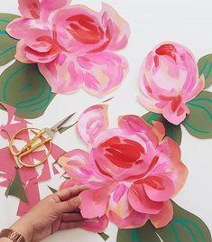 Josefina Jiménez (@jojimenez) • Fotos y vídeos de Instagram Flower Power, Paper Flowers, Peonies, Instagram, Paper Crafts, Art, Tissue Paper Crafts, Paper Craft Work, Papercraft