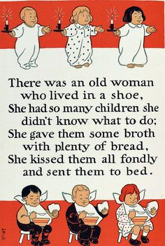 There was an old women who lived in a shoe by Mother Goose Nursery Rhymes Lyrics, Old Nursery Rhymes, Rhyming Preschool, Phonics, Nursery Rymes, Old Mother Hubbard, Rhymes For Kids, Children Rhymes, Children Stories