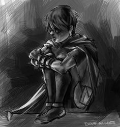 Young Justice Robin (Dick Grayson) by Dovah-del-Norte on DeviantArt