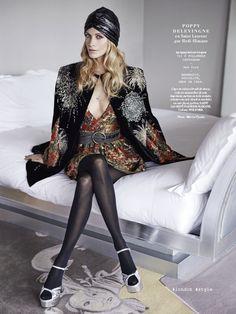 Fashion Influencer: Poppy Delevingne for L'Officiel Paris January 2015