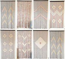 WINDOW BAMBOO BEADED STRING BLINDS CURTAINS ROOM DOOR DIVIDER TASSEL FLY SCREEN